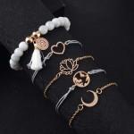 Arihant combo of 5 Gold Plated Bracelets 49016