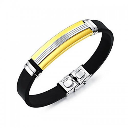 Arihant Stylish Stainless Steel Black Charming Wri...