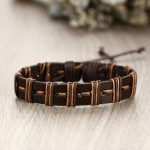 Arihant Bangles Multi Layered Lather Bracelet for Men