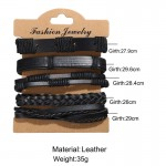 Arihant Bangles Multi Layered Lather Bracelet for Men