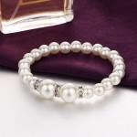 Arihant White & Silver Toned Contemporary Jewellery Set 49514
