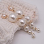 Arihant Scintillating Chunky Statement Pearl Drop Earrings For Women/Girls