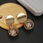 Arihant Wonderful Hanging Ball Plushy Drop Earrings For Women/Girls 45064