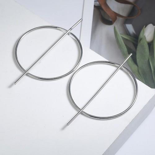 Arihant Ravishing Minimalistic Geometric Round Hoo...