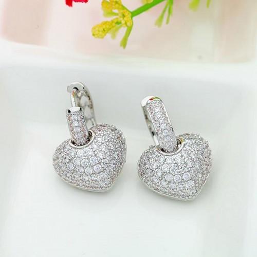Arihant Fascinating Zircon Heart Inspired Silver P...