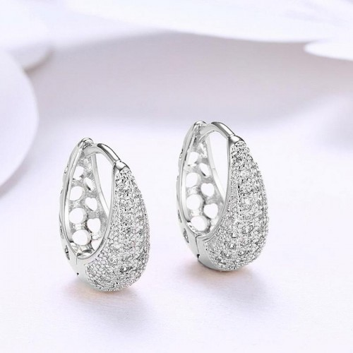 Arihant Exquisite Zircon Silver Plated Plushy Drop...