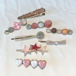 Arihant AD & Pearl Heart Hair Clips Jewellery For Women 6602