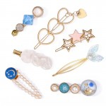 Arihant Heart Pearl & AD Hair Clips Jewellery For Women 6603