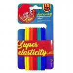 Arihant Best Quality Super Elasticity Hair Bands (Pack of 10)