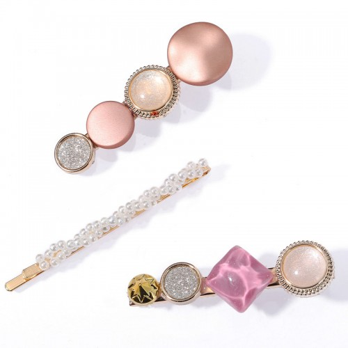 Arihant Stylish Pearl Gold Plated Hairclips for Wo...