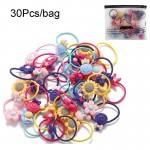 Arihant Adorable Floral Multicolour Rubber Band for Women and Girls (Pack of 30)