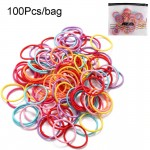 Arihant Adorable Multicolour Rubber Band for Women/Girls (Pack of 100)