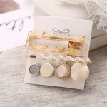 Arihant Mesmerizing Pearl Gold Plated Hairclips for Women/Girls