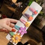 Arihant Stunning Floral Transparent Hairclip Jewellery for Kids/Girls