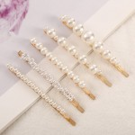 Arihant Stunning Pearl Gold Plated Hairclip Jewellery For Women