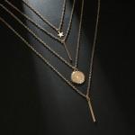 Arihant Exclusive Star & Coin Multi Layered Stunning Neklace for Women/Girls 44088