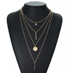 Arihant Exclusive Star & Coin Multi Layered Stunning Necklace For Women/Girls 44088