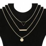 Arihant Geometric Multi Layered Ravishing Necklace for Women/Girls 44089