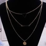 Arihant Fashionable Geometric Multi Layered Ravishing Necklace For Women/Girls 44089