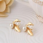 Arihant White & Gold-Toned Gold-Plated Pearl-Studded Necklace Set 44094