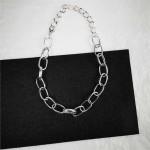 Arihant Ravishing Bold Chain Silver Plated Necklace For Women/Girls 44189