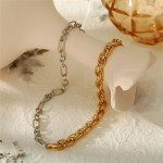 Arihant Bangles Trendy Dual Plated Chain Necklace For Women/Girls
