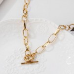 Arihant Amazing Lock Bold Gold Plated Necklace For Women/Girls 44193