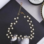 Arihant Pearl Single Layer Gold Plated Necklace Jewellery For Women 44228