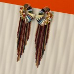 Arihant Multicoloured Handcrafted Contemporary Tassel Earrings