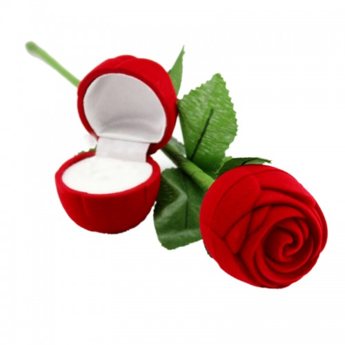Valentine Heart Rose Flower Design Box 9928