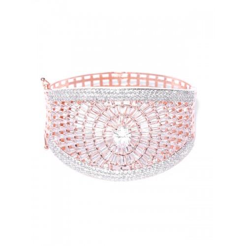 Arihant Designer Jewellery White Rhodium-Plated Ba...