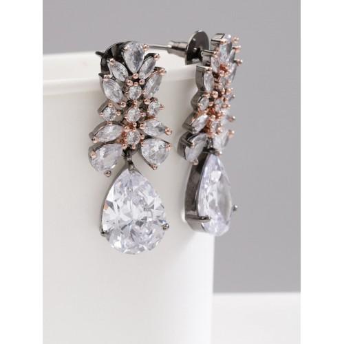 Arihant Designer Jewellery Rhodium & Rose Gold...