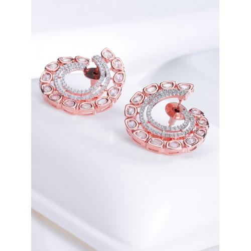 Arihant Designer Jewellery Rose Gold-Plated Circul...