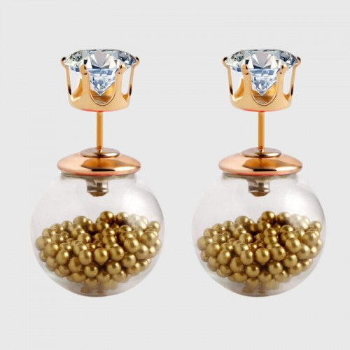 Arihant GP Khakee Glass Stud Earrings 221