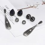 Arihant Scintillating Crystal Vintage Retro Splendid Stud and Droplets Earrings For Women/Girls PC-ERG-132