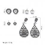 Arihant Trendy American Diamond Vintage Retro Mesmerizing Stud & Droplets Earrings For Women/Girls PC-ERG-133