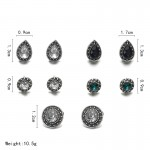Arihant Gorgeous Crystal Vintage Retro Fascinating Stud Earrings For Women/Girls PC-ERG-134