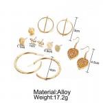 Arihant Combo of 6 Pair Gold Plated Earrings PC-ERG-161