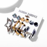 Arihant Bangles Trendy Silver Plated 6 Pair of Earrings For Women/Girls