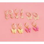 Arihant Jewellery For Women Multicolor Gold Plated Earrings Combo 8647