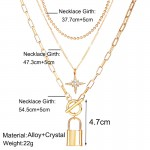 Arihant Jewellery For Women Gold Plated Layered Necklace Combos