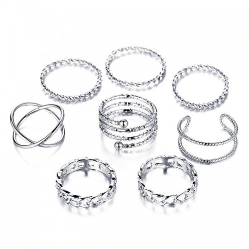Arihant Exclusive Multi Designs Silver Plated Magn...