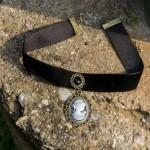 Arihant Black Lace Copper Plated Queen Choker 13513