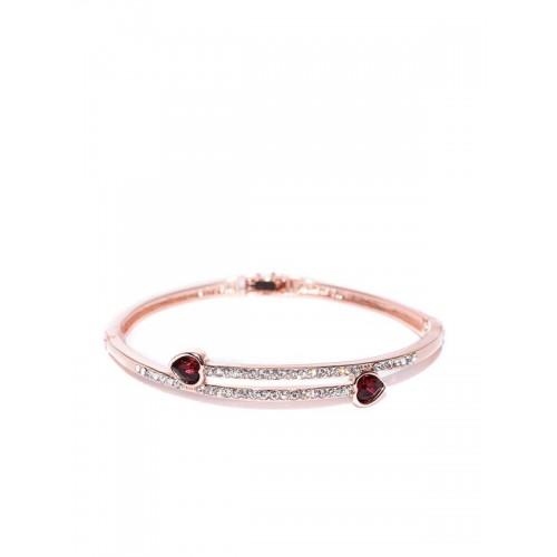 Rose Gold Plated American Diamond Bracelet