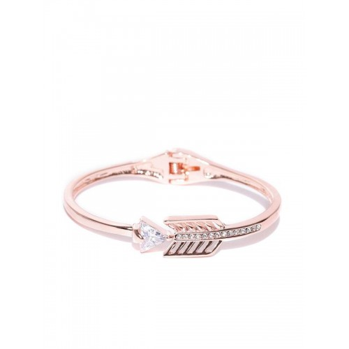 Rose Gold Plated Arrow inspired AD Bracelet