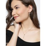 Gold Plated Hearts Golden Key Shaped Jewellery Set 4076 4076