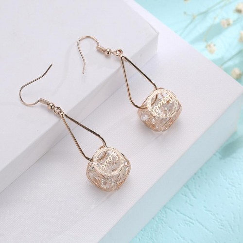 Arihant Crystal Elements Drop Earrings