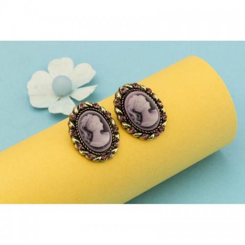 Arihant Cubic Zirconia Queen Fashion Earrings