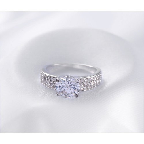 Arihant Platinum Plated American Diamond Fashion R...