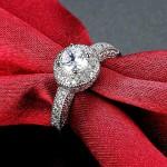 Arihant Mesmerizing Zircon Studded Silver Plated Swanky Ring For Women/Girls 5174